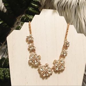 CHARTER CLUB Rose Crystal Necklace